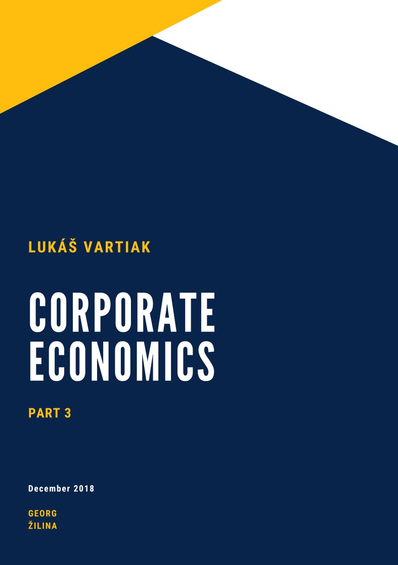 CORPORATE ECONOMICS  PART 3